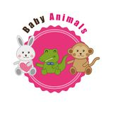 Baby animals design Royalty Free Stock Photos