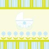 Baby-Ankunfts-Ansagen-Karte Stockbilder