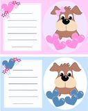 Baby announcement card stock images