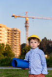 Baby architect Stock Images