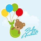Baby arribal Royalty Free Stock Images