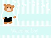 Baby arrival Royalty Free Stock Images