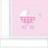 Baby arrival Royalty Free Stock Image