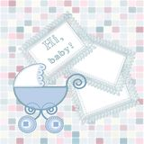 Baby arrival Stock Photo