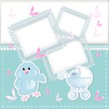 Baby arrival Stock Photos