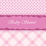 Baby arrival card. For baby theme, celebration and others Royalty Free Stock Photos