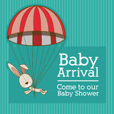 Baby arrival Royalty Free Stock Photos