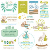 Baby Arrival and Shower Collection Stock Images
