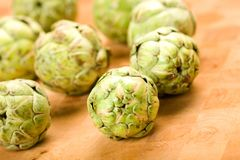Baby artichokes Royalty Free Stock Image