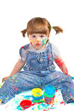 Baby  artist Royalty Free Stock Image