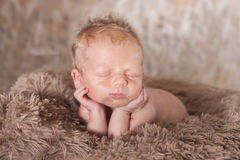 Baby as art Royalty Free Stock Photo