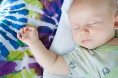 Baby Asleep Stock Image