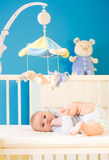 Baby At Nursery Royalty Free Stock Photos
