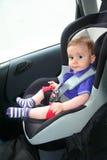 Baby in auto Royalty-vrije Stock Fotografie