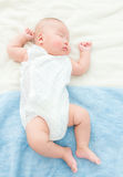 Baby baby take rest Royalty Free Stock Image