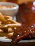 Baby back ribs Royalty Free Stock Photography
