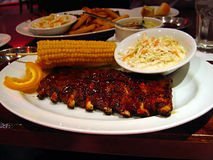 Baby Back Ribs Stock Photography