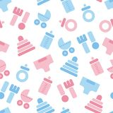 Baby background Stock Image