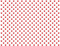 baby background hearts red seamless Royaltyfri Bild