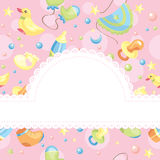 Baby background illustration Stock Images