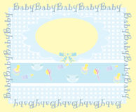 Baby background , illustration Stock Images