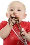 Baby Baking Royalty Free Stock Image