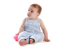 Baby with ball 3 Royalty Free Stock Photography