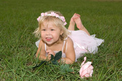 Baby Ballerina Royalty Free Stock Photo