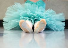 The baby Ballerina royalty free stock photography