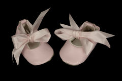 Baby Ballet Shoes Royalty Free Stock Image
