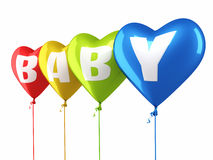 Baby balloons Royalty Free Stock Photography