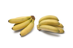 Baby bananas Stock Photo