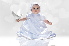 Baby Baptism Royalty Free Stock Photos