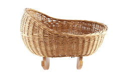 Baby basket Royalty Free Stock Photos