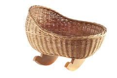 Baby basket Royalty Free Stock Photos