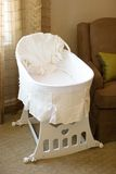 Baby bassinet Royalty Free Stock Image