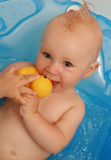 Baby bath Royalty Free Stock Photo