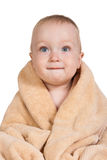 Baby after bath. Royalty Free Stock Photography