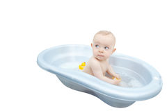 Baby bath. Stock Photos