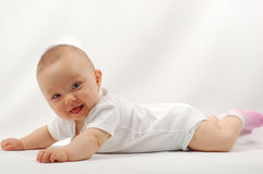Baby after bath #15 Royalty Free Stock Photography