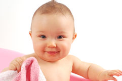 Baby bath #17 Royalty Free Stock Photos