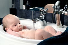 Baby-bath 2. Stock Image