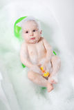 Baby bath Royalty Free Stock Images
