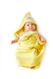 Baby after bath Royalty Free Stock Photography