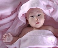 baby after bath  3 stock photos