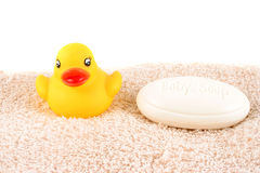 Baby bath soap Royalty Free Stock Photos