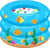 Baby Bath Tub cartoon Royalty Free Stock Images