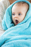 Baby After Bath, Stock Image