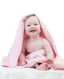 baby after bathing Royalty Free Stock Photo