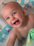 Baby in the Bathwater Royalty Free Stock Photos
